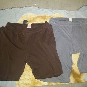 Two pairs of pants! Super comfy!